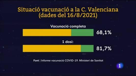 L'Informatiu Comunitat Valenciana 2 - 17/08/21
