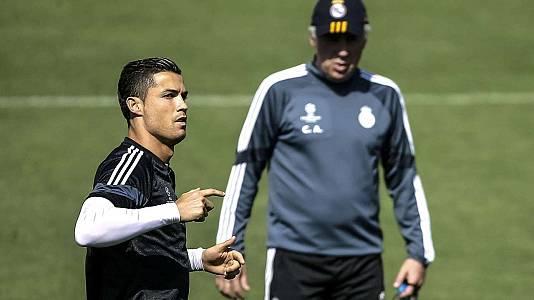 Cristiano y Ancelotti desmienten que vayan a volver a juntarse en el Madrid