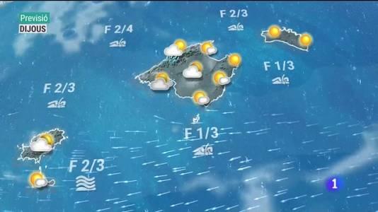 El temps a les Illes Balears - 18/08/21