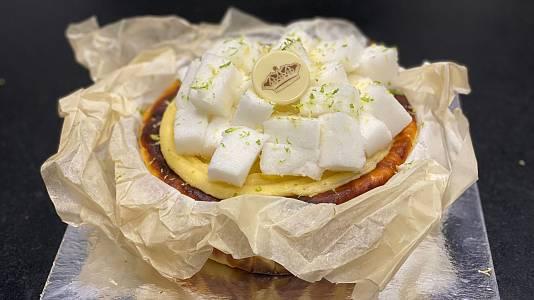 Receta de postre: tarta de queso y limón