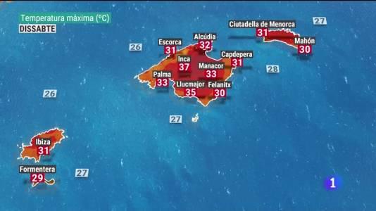 El temps a les Illes Balears - 20/08/21