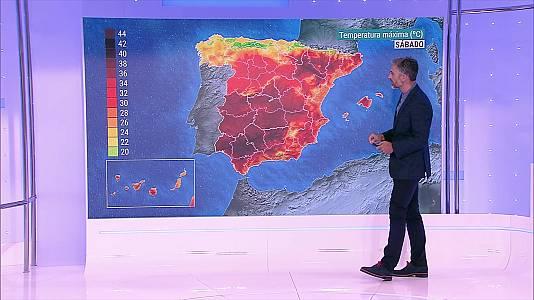 Las temperaturas subirán en la mitad norte peninsular, de forma notable para las máximas en el País Vasco, Navarra y resto del alto Ebro