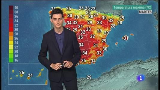 El Tiempo en la Comunitat Valenciana - 23/08/21