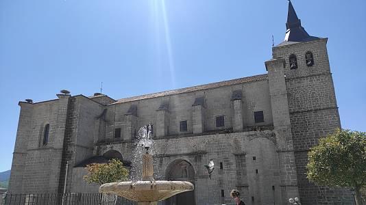El pueblo de El Espinar triplica su población en agosto