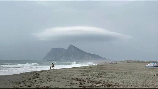 Chubascos y tormentas en el Sistema Central,este del Pirineo