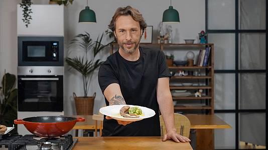 Pulpo con garbanzonesa: redescubre el pulpo con Gipsy Chef