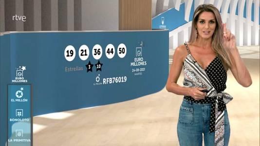 Sorteo de la Bonoloto y Euromillones del 24/08/2021