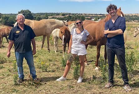 Nico Coronado y su gran amor por los animales