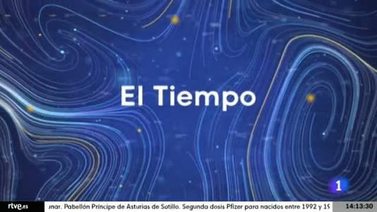 El tiempo en Castilla y León  - 25/08/21