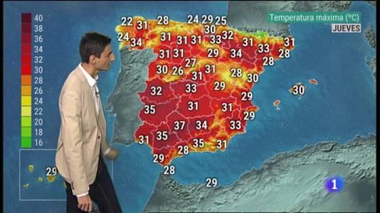 El Tiempo en la Comunitat Valenciana - 25/08/21