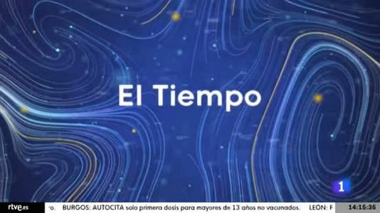 El tiempo en Castilla y León  - 26/08/21