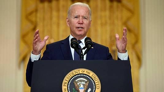 Especial informativo - Comparecencia de Joe Biden condenando los atentados en Afganistán - 26/08/21