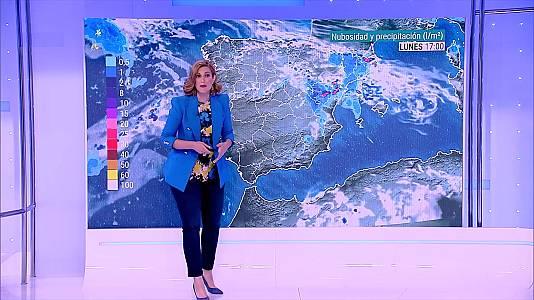 Chubascos y tormentas  fuertes en la Ibérica turolense