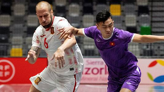 Preparación Campeonato del Mundo: España - Vietnam