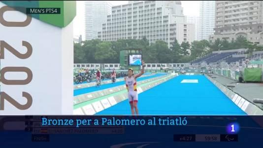 Sánchez Palomero, bronze al triatló