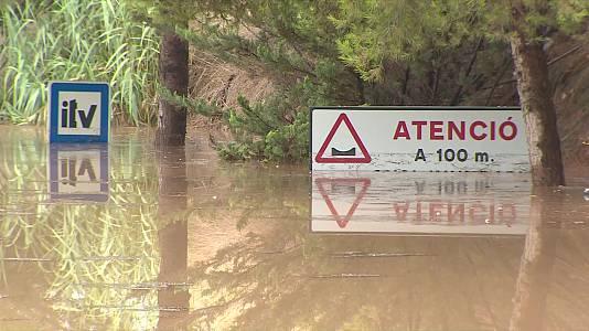 Chubascos y tormentas localmente fuertes en la Ibérica turolense, Comunidad Valenciana y sur de Cataluña