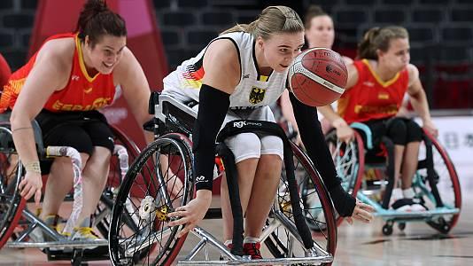 Baloncesto en silla de ruedas. España - Alemania
