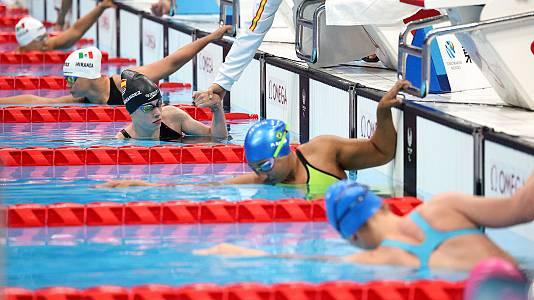 Natación: Final 50 braza femenino SB3 con Marta Fernández