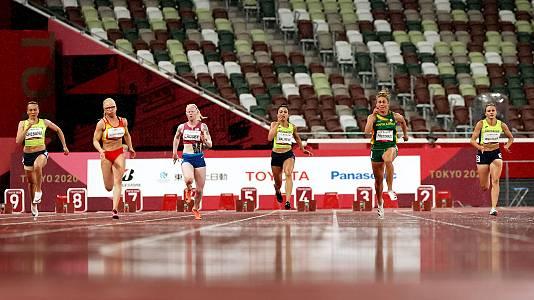 Atletismo: Final 100 metros T13 con Adiaratou Iglesias