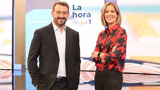 Marc Sala y Silvia Inxaurrondo desvelan todos los detalles de 'La Hora de la 1'