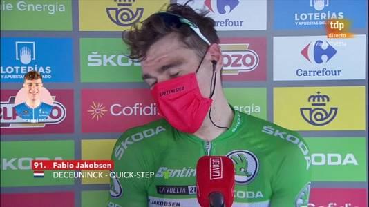 """Jakobsen: """"Estoy en las nubes con esta victoria"""""""