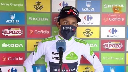 """Vuelta 2021   Egan Bernal: """"No tengo nada que perder"""""""