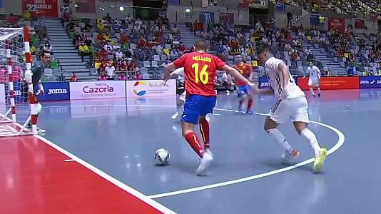 Preparación Campeonato del Mundo: España - Japón