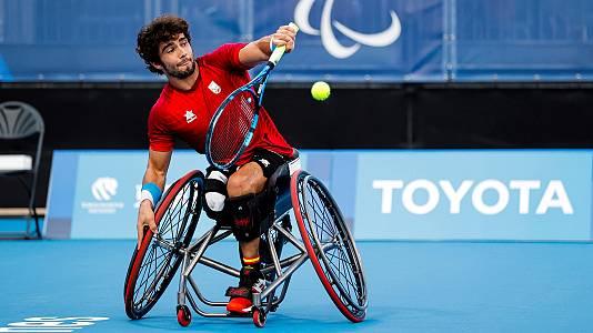 Tenis silla de ruedas - Cuartos: D. Caverzaschi - T.Egberink
