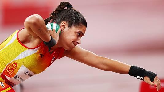 Atletismo: Lanzamiento de peso F36 con Miriam Martínez