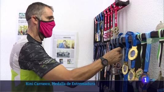 Kini Carrasco recibirá la Medalla de Extremadura
