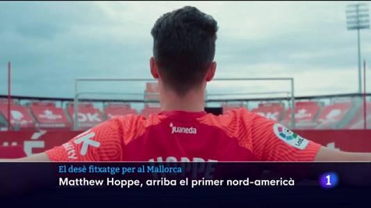 Hoppe, el prime nord-americà del Mallorca