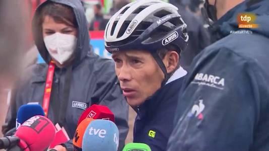 """La Vuelta   'Supermán': """"Sin confianza, no merecía seguir"""""""