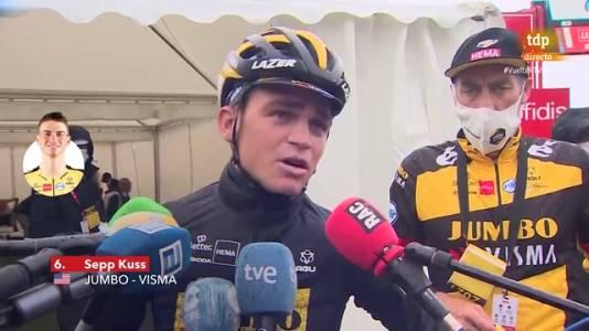 """Vuelta 2021   Sepp Kuss: """"Aún no hemos ganado la Vuelta"""""""