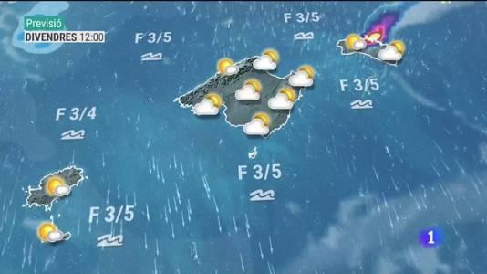 El temps a les Illes Balears - 02/09/21