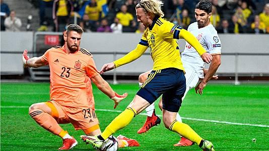 Clasificación Camp. Mundo 2022: Suecia - España