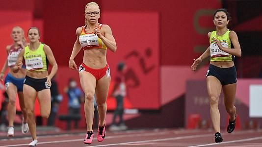 Atletismo: Final 400 metros T13 con Adiaratou Iglesias
