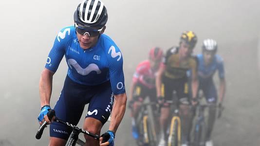 'Superman' Lopez abandona la Vuelta tras dejarse el podio en la etapa