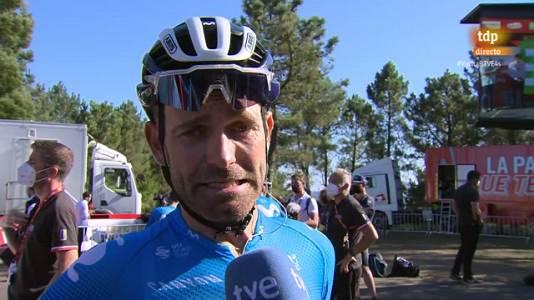 """Vuelta 2021   Rojas: """"No tenía ni idea de que Miguel Ángel (López) se había bajado de la bicicleta"""""""