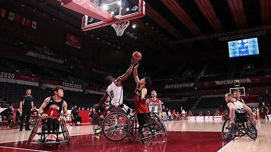 Baloncesto: Oro. EEUU - Japón