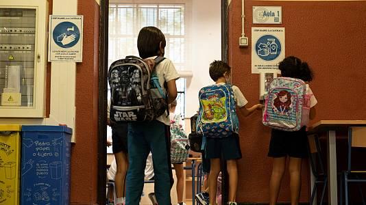 Arranca esta semana el tercer curso escolar en pandemia en casi toda España