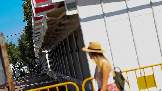 Los libreros se preparan para una Feria de Madrid atípica