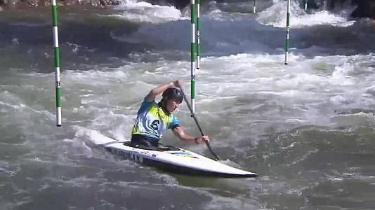 Slalom Copa del Mundo. Finales canoa (F) y (M)
