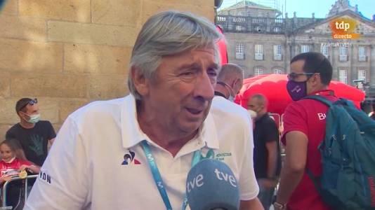 """Vuelta a España   Eusebio Unzué, sobre el incidente con Superman López: """"La frustración de no estar con los mejores le derrumbó"""""""