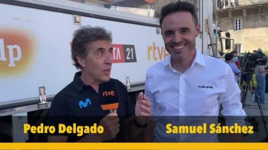 Samuel Sánchez y Pedro Delgado analizan la actuación española en esta Vuelta 2021