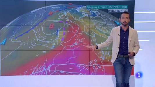 Calor, xafogor i algunes tempestes per començar la setmana