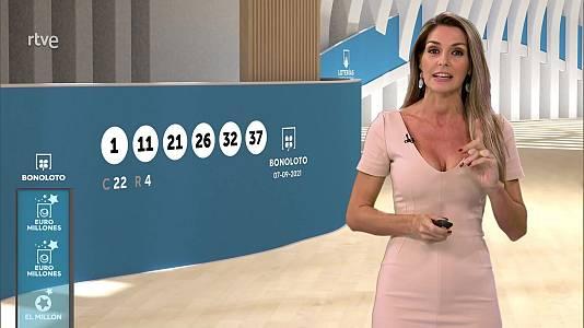 Sorteo de la Bonoloto y Euromillones del 07/09/2021