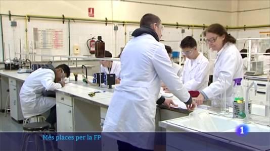 Educació obre una convocatòria extraordinària de 6.500 noves places per a la FP