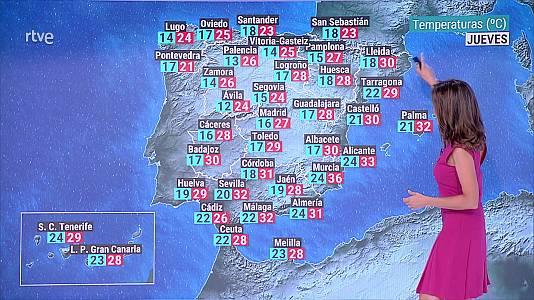 No se descarta alguna tormenta fuerte en el Pirineo central