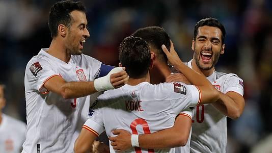 España gana y la Federación de Kosovo y aprovecha el tropiezo de Suecia