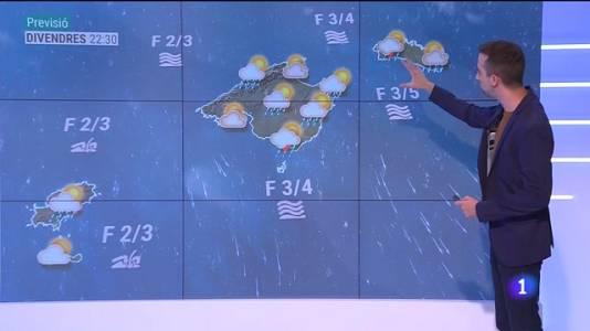 El temps a les Illes Balears - 09/09/21